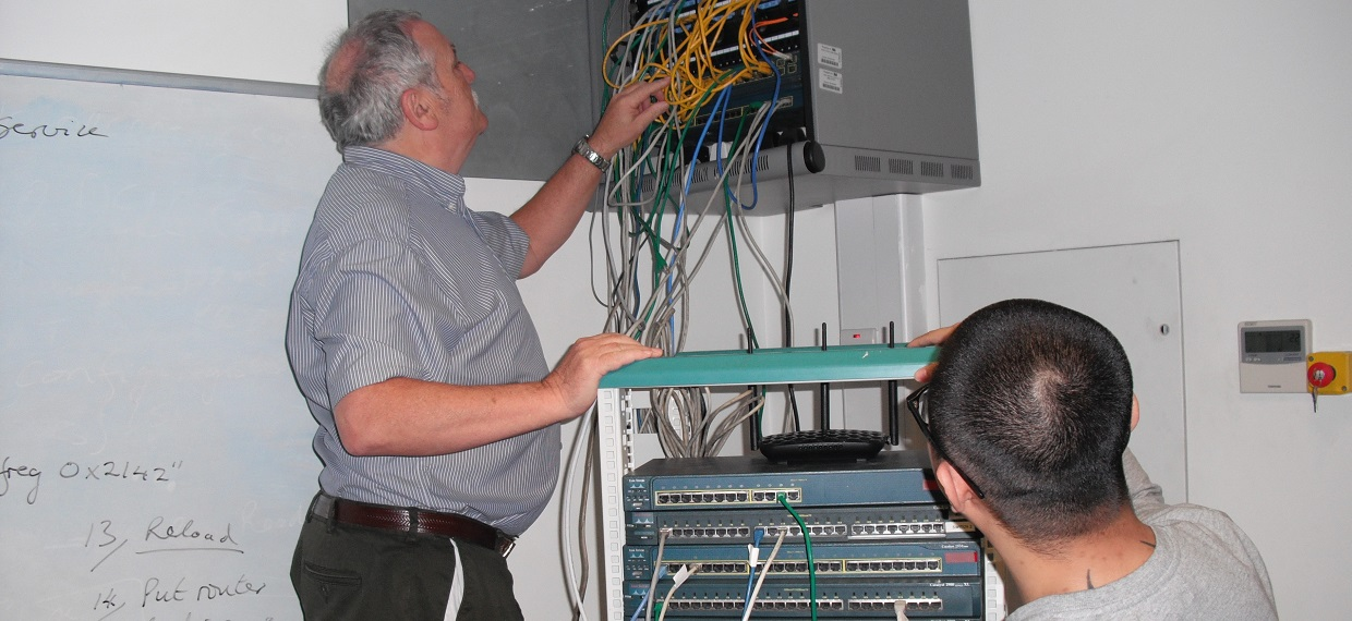 Computer Network Installation and Maintenance course